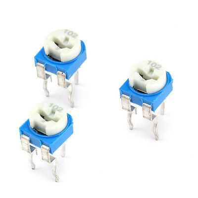 RM065 Horizontal Pot Variable Potentiometer Trimmer Resistors WH06-2 100Ω To 1MΩ