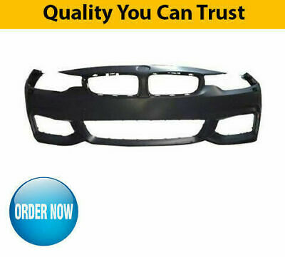 BMW 4 Series F32 Coupe Front Bumper Primed M-Sport Pdc And Washer Holes 2013