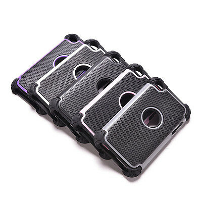 Delicate Triple ShockProof Protective Case Cover for IPod Touch 4th Fine CRIT