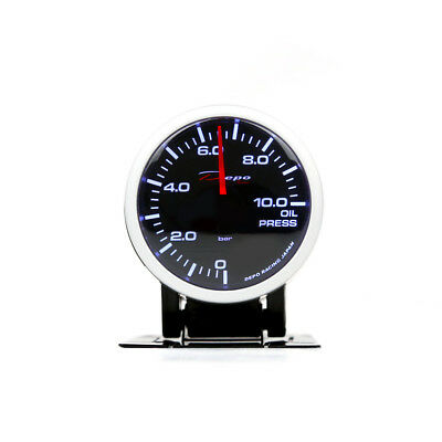 Depo Racing 60Mm Oil Pressure Gauge