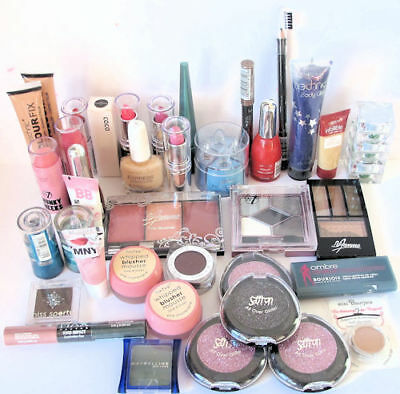 Wholesale Lot 39 Cosmetic Items. Maybelline, L'Oreal, Bourjois, Max Factor Etc.
