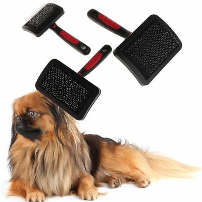 Pet Dog Cat Grooming Comb Shedding Hair Remove Brush Slicker Supplies Protective