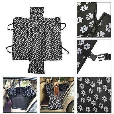 Pet Dog Rear Back Car Seat Cover Protector Cushion Waterproof Mat Travel Blanket