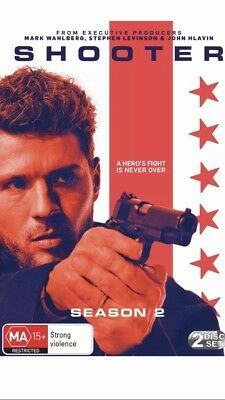 Shooter Season 2 DVD Region 4 Brand New Aussie Release