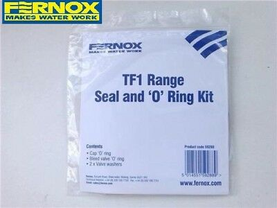 Fernox 59288 TF1 Total Magnetic Filter Range Seal & O Ring Kit Central Heating