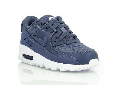 los angeles f35ec 53a09 NIKE AIR MAX 90 MESH PS 833420-409 chaussures enfants baskets sneakers bleu