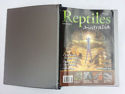 Reptiles Australia Magazine Vol 4 Issues 1 - 6 In Official Binder Herpetology
