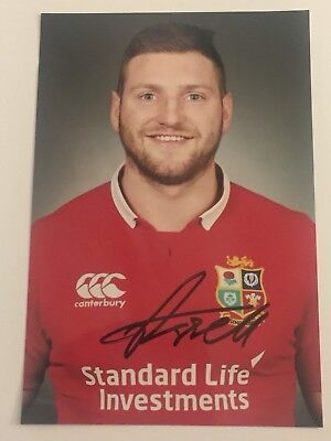 Finn Russell - British Lions Rugby Player Signed 6x4 Photo