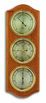 TFA 20.1076.01B Oak 3 Dial Indoor Analogue Weather Station
