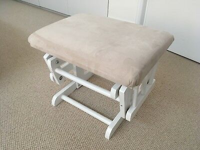 New Kub Hayward Glider Footstool (White)