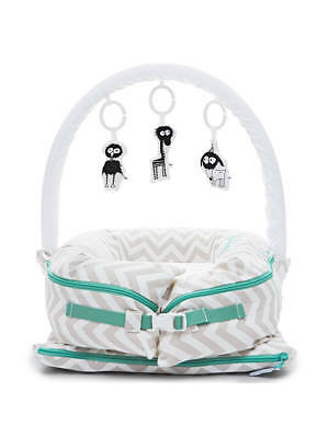 Pod 0 to 8 Months Sleepyhead Deluxe+ Silver Lining Pod Grey washable RRP£145