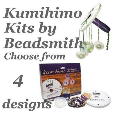 Beadsmith Kumihimo Braiding Kit Choose from 4 Designs, Round, Square, or Beads