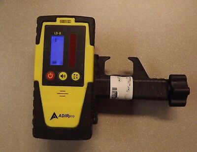 ADIR Pro LD-8 Universal Rotary Laser Receiver Detector w/ Clamp