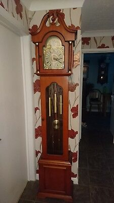 8 day longcase clock by ECS of Germany