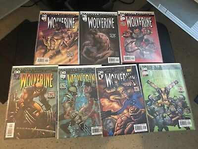 Marvel Knights: Wolverine #13- 23 Set, Never Opened Comic Lot