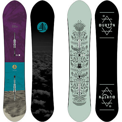 2ca239c01df Burton Day Trader Freeride Snowboard Damen ft Family Tree 2017-2019 New