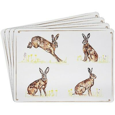 Leonardo - HARES COUNTRY LIFE TABLE PLACE MATS - Set of 4