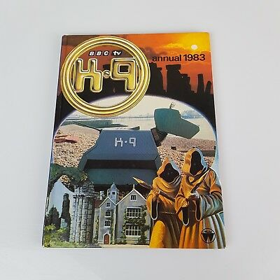 BBC TV K-9 & Company Annual 1983 - Doctor Who & Sarah Jane Smith UNCLIPPED Clean