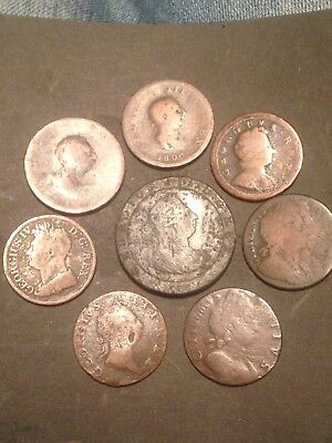 Old British Coins Early Milled