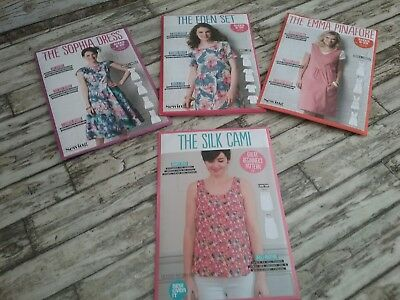 4 Dressmaking/sewing Patterns .