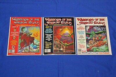 Marvel Super Special Warriors of the Shadow Realm #11,12,13 Magazine Key