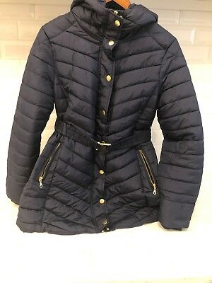 H&M Mama Maternity Winter Coat, Navy Size M