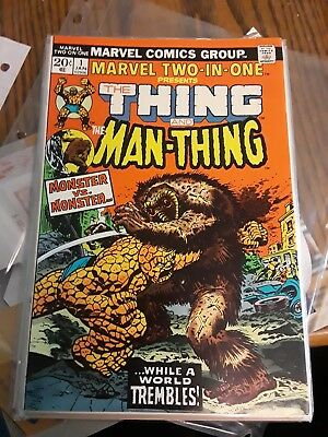 Marvel two-in-one #1 the thing and the man-thing