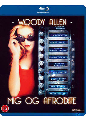 Mighty Aphrodite NEW Arthouse Blu-Ray Disc Woody Allen Mira Sorvino O. Dukakis