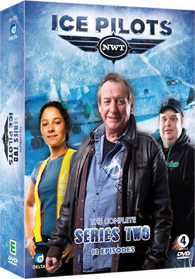 Ice Pilots NWT (Complete Series 2) NEW PAL Cult 4-DVD Set Joe & Mikey McBryan