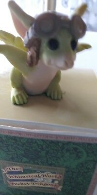 "Pocket Dragon ""Zoom Zoom"" Real Musgrave Collectible!!!"