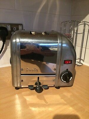 Dualit S/S  toaster,good working order  Few Marks But Looks Good classic dualit.