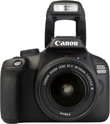 Canon EOS 4000D Kit with 18-55 mm f/3.5-5.6 III Lens