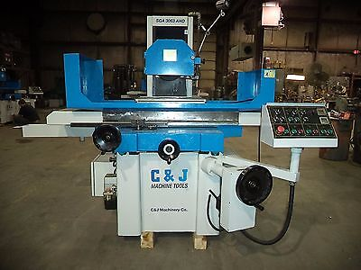 "2010 C & J 12"" X 25"" Automatic Surface Grinder w/Incremental Downfeed & Sparkout"