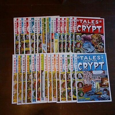 Tales From The Crypt 1979 Set Of 30 Full Color Cover Posters