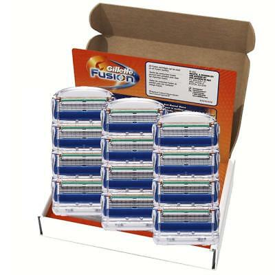 Gillette Fusion 5 Razor Blades 12 Refills Replacement Cartridges