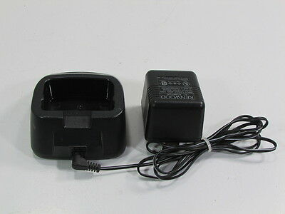 Kenwood Charger W08-0598 And Adapter W08-0479-05