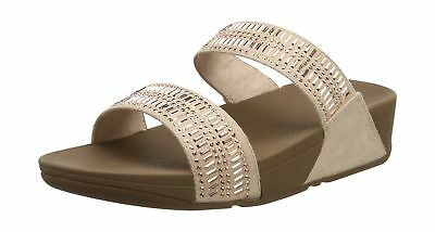 a39d97249 FITFLOP WOMEN INCASTONE Slide Sandals Beige (Nude) 8 UK - EUR 52