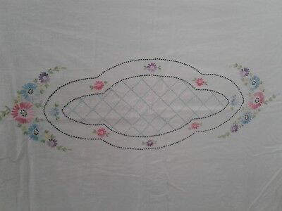 """Beautiful Summer Spread 74 X 96"""" Vintage 1930's Coverlet"""