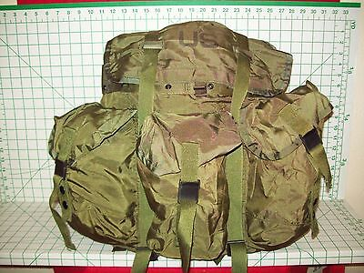 Used Military Issued Alice Medium Combat Field Pack Rucksack Only Od