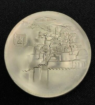 Uncirculated 1968 Israel 10 Lirot Silver Coin