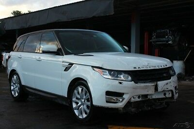 2014 Land Rover Range Rover Sport HSE 4x4 4dr SUV 2014 Land Rover SALVAGE TITLE damage, fix, repairable cars, fixer, car