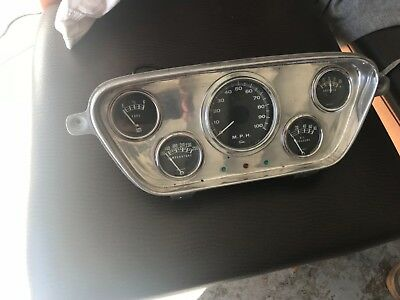 1953 1954 1955 Ford Truck  Gauged Dash Panel Cluster Set