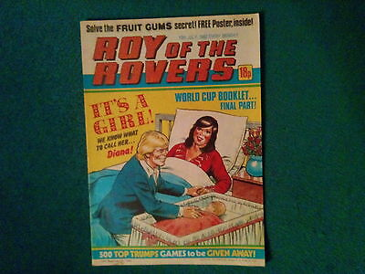 Roy Of The Rovers Comic Dated 10 July 1982