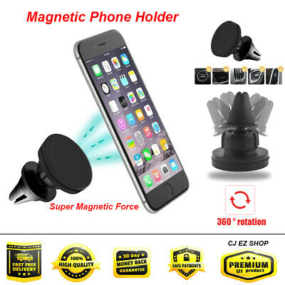 Universal 360 Degree Magnetic Car Holder Mount Smartphone Cell Phone Holder LOT