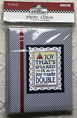 Mary Engelbreit Photo Album A Joy That's Shared Holds 36 Pictures 2006 ME New