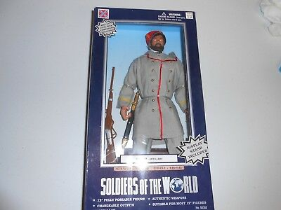 "Soldiers of the World Civil War 12"" figure MAJOR ARTILLERY"