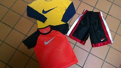 Boy's Size 6 Shorts & T-Shirt Nike Lot Of 3 Athletic Casual