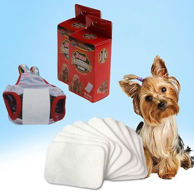 Hygienic Pants Puppy Napkin Pet Paper Diaper  Dog Nappy Pads Cat Paper Mat