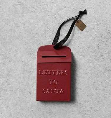 Hearth & Hand W/Magnolia Red Letters To Santa Christmas Tree Ornament