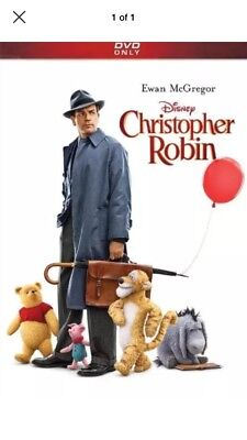 🔥 Christopher Robin (DVD 2018) - New Sealed!